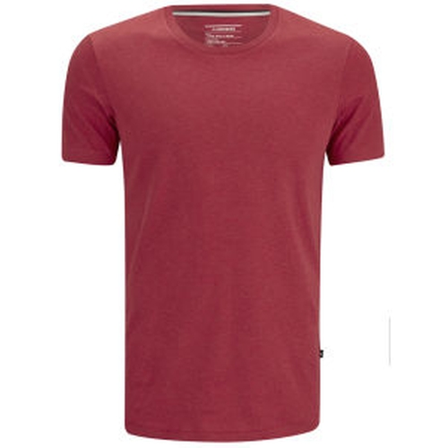 Men's Axtell Crew Neck Slim Fit T-Shirt by J.Lindeberg in Scarface