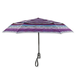 Polka Dot Stripes Umbrella by Shedrain in Pitch Perfect 2