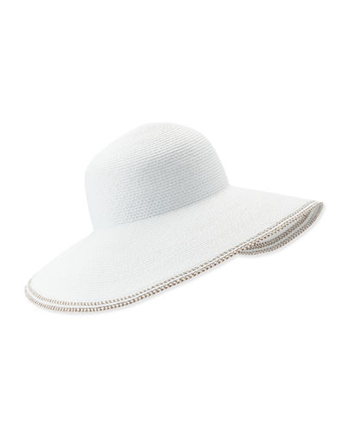Bella Woven Floppy Sun Hat by Eric Javits in The Man from U.N.C.L.E.