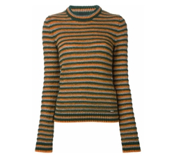 Striped Round Neck Sweater by Diesel in Love, Rosie