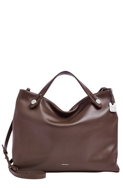 'Mikkeline' Leather Satchel Bag by Skagen in Pretty Little Liars