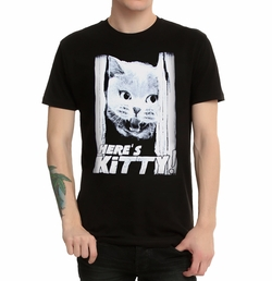 Here's Kitty! T-Shirt by Hot Topic in The Flash