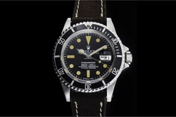 Leather Submariner Watch by Rolex in Mad Dogs