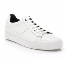 Leather Lace-Up Sneakers by Hugo Boss in Ballers