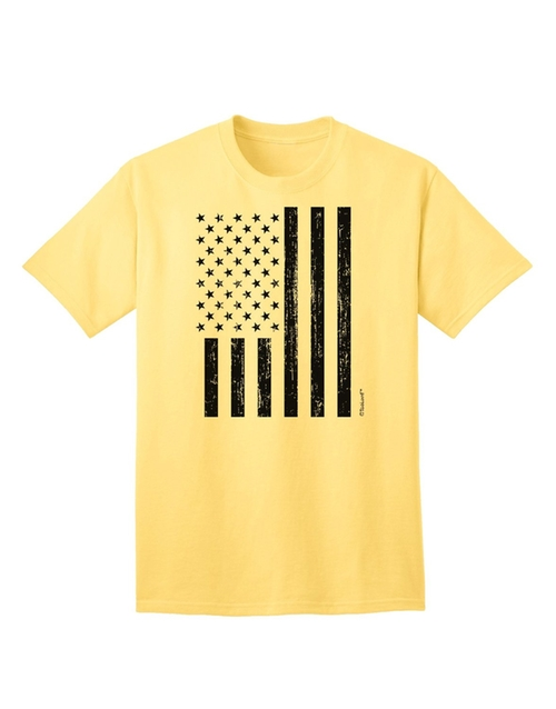 Stamp Style American Flag T-Shirt by Too Loud in Master of None - Season 1 Episode 9