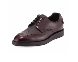 Cap-Toe Suede Derby Shoe by Ermenegildo Zegna in House of Cards