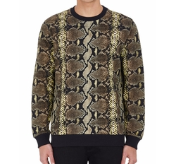 Python-Print French Terry Sweatshirt by Givenchy in Empire