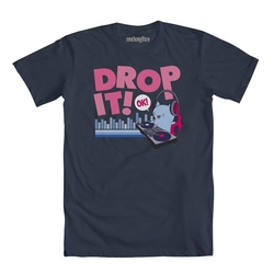 Catbug Drop It DJ Shirt by Bravest Warriors in The Flash