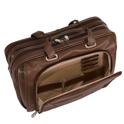 Leather Laptop Case by Mcklein Irving Park in Modern Family