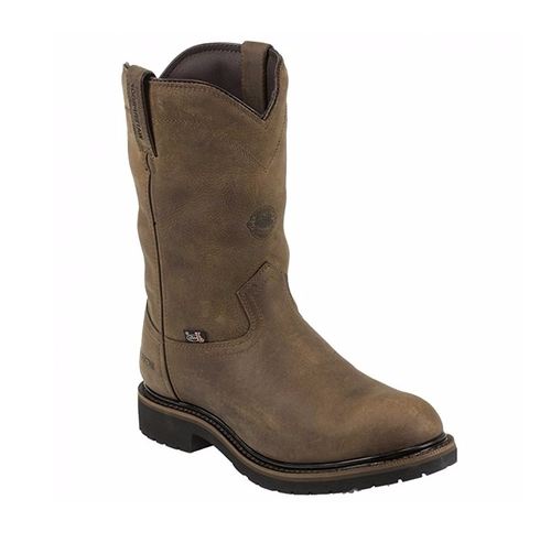 Wyoming Insulated Work Boots by Justin Original in Lethal Weapon - Season 1 Episode 5