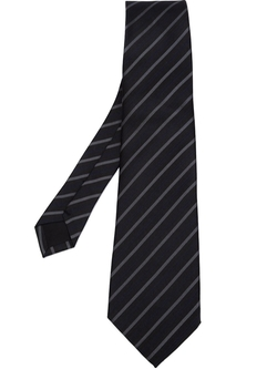 Striped Pointed Tip Tie by Junya Watanabe Comme Des Garçons Man in Arrow
