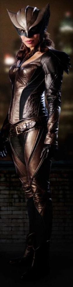 Custom Made 'Hawkgirl' Costume by Maya Mani (Costume Designer) in Arrow