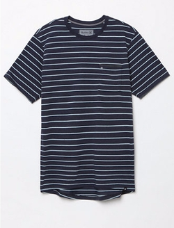 Dri-FIT Edwards Crew Neck T-Shirt  by Hurley  in Flaked