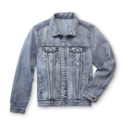 Young Men's Denim Jacket by Roebuck & Co. in The Big Bang Theory
