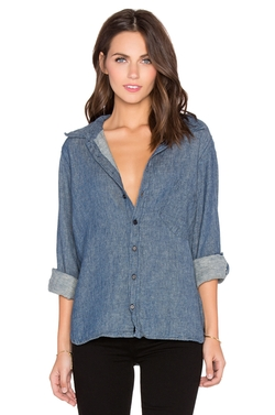 Jay Outer Linen Button Down Shirt by CP Shades in Into the Forest