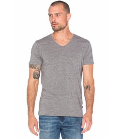 Classic V Neck Tee by Scotch & Soda in Rosewood