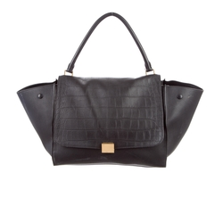 Large Trapeze Bag by Céline in Power