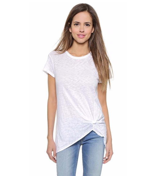 Twist Front Tee by Stateside in Fuller House