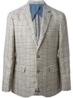 Gingham Blazer by Hackett in Barbershop: The Next Cut