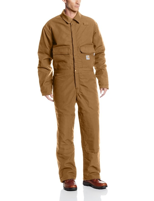 Flame Resistant Duck Coverall by Carhatt in The 33