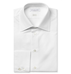 Cotton-Poplin Shirt by Richard James in The Blacklist