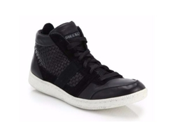 Leather Amnesia Resolution Sneakers by Diesel in The Flash