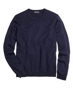 Saxxon Wool Crewneck Sweater by Brooks Brothers in Our Brand Is Crisis