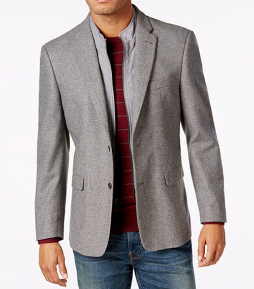 Slim-Fit Sport Coat by Tommy Hilfiger in Free Fire