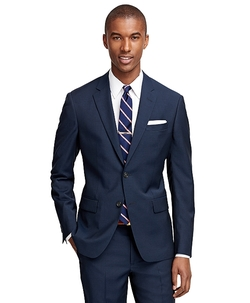 Milano Fit Navy 1818 Suit by Brooks Brothers in Pitch Perfect 2
