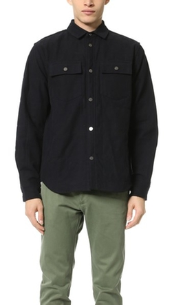 Brushed Cotton Shirt Jacket by Marc by Marc Jacobs in The Blacklist