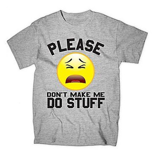 Please Don't Make Me Do Stuff Tee by JCPenney in Black-ish - Season 2 Episode 10