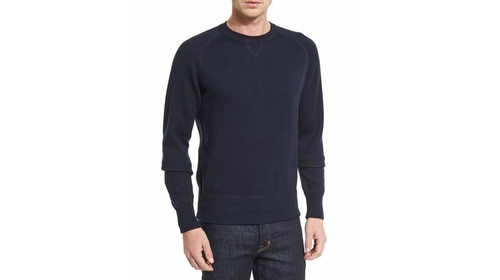 Solid Raglan-Sleeve Sweatshirt by Tom Ford in Animal Kingdom - Season 1 Episode 4
