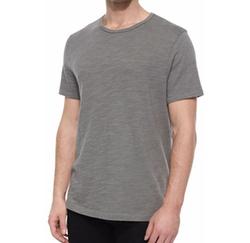 Basic Crewneck Short-Sleeve T-Shirt by Rag & Bone Standard Issue in Love, Simon