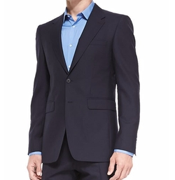 Modern-Fit Wool Suit by Burberry in Quantico