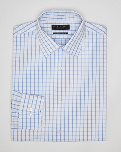 Windowpane Check Dress Shirt by Bloomingdale's in Brooklyn Nine-Nine - Season 3 Episode 7