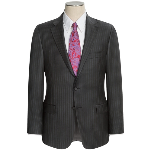 Multi-Stripe Suit by Hickey Freeman in Scandal