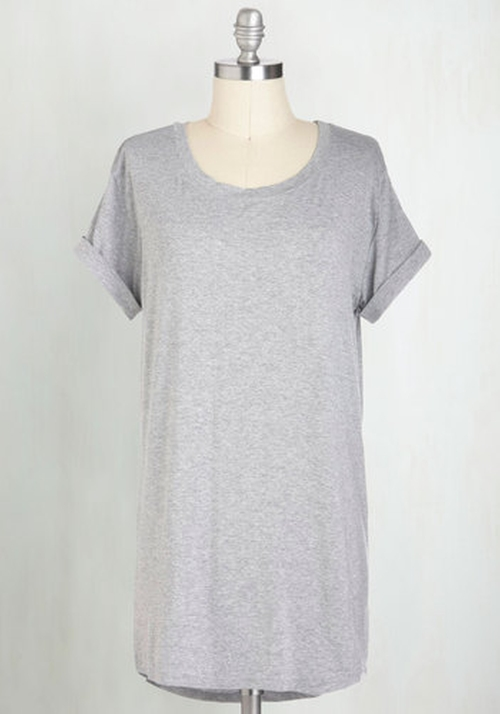 Simplicity on a Saturday Tunic Tee by ModCloth in Project Almanac