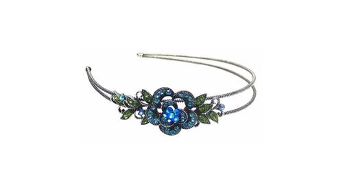 Crystal Flower Headband by Bella in Gossip Girl - Series Looks