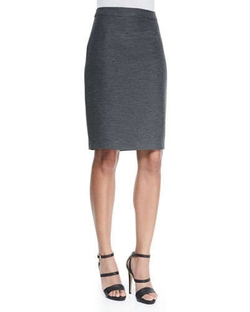 Back Zip Pencil Skirt by Lanvin in Suits