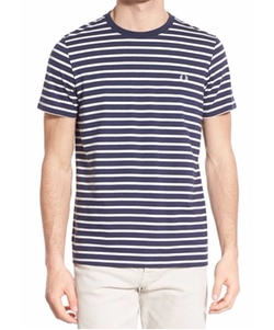 Breton Stripe Crewneck T-Shirt by Fred Perry in The Fundamentals of Caring