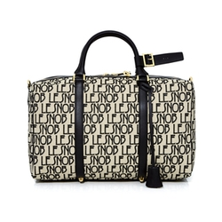 Canvas Duffel Medium Bag by Le Snob in Empire