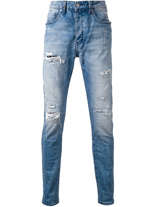 Distressed Skinny Jeans by Neuw in Ballers - Season 1 Episode 8