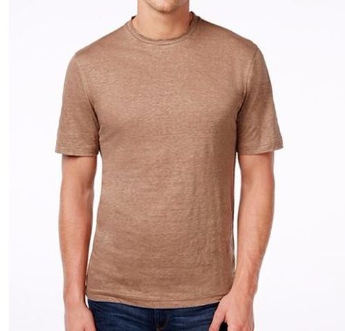 Premium Linen Shirt by Tasso Elba in Hands of Stone
