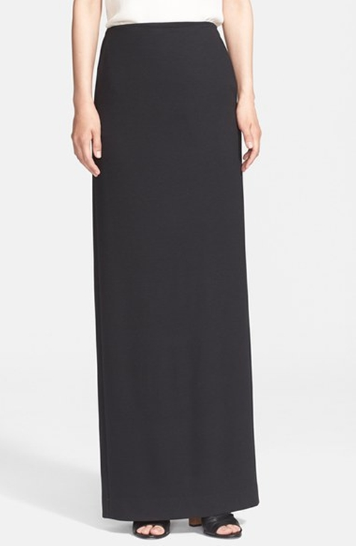 Stretch Jersey Maxi Skirt by Theory in Scandal - Season 5 Episode 2