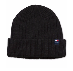 Solid Cuffed Beanie by Tommy Hilfiger in Hands of Stone