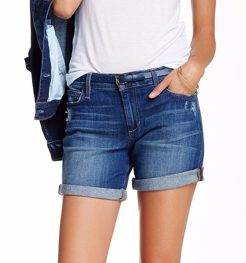 Cuff Denim Shorts by Joe's Jeans in Mother's Day