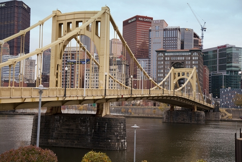 Roberto Clemente Bridge Pittsburgh, Pennsylvania in Jack Reacher