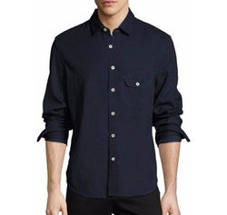 Nep Woven Sport Shirt by Joe's Jeans in Transformers: The Last Knight