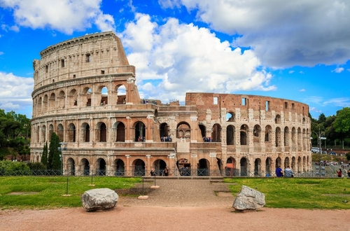 Colosseum Rome, Italy in John Wick: Chapter 2