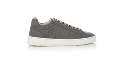 Low Wool Felt Trainer Sneakers by Etq Amsterdam in The Flash
